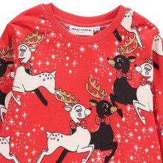 Mini Rodini Organic Cotton Reindeer Sweatshirt-product