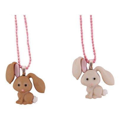 Pop Cutie Lot de 2 Colliers BFF Lapins-listing