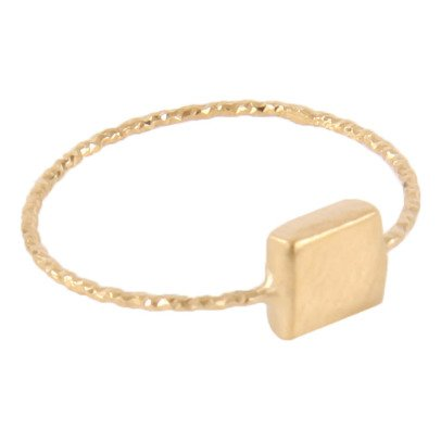 5 Octobre Ring aus Silver-Vergoldet Linette -listing