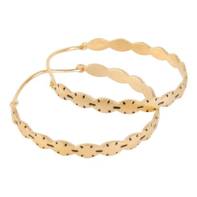 5 Octobre Randy Large Hoop Earrings -listing