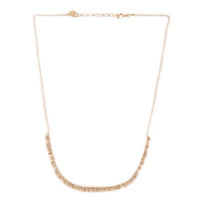5 Octobre Halskette aus Silber-Vergoldet Bia -listing