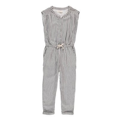 Hundred Pieces Stripe Jumpsuit-product
