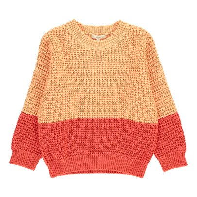 Hundred Pieces Two-Tone Jumper-listing