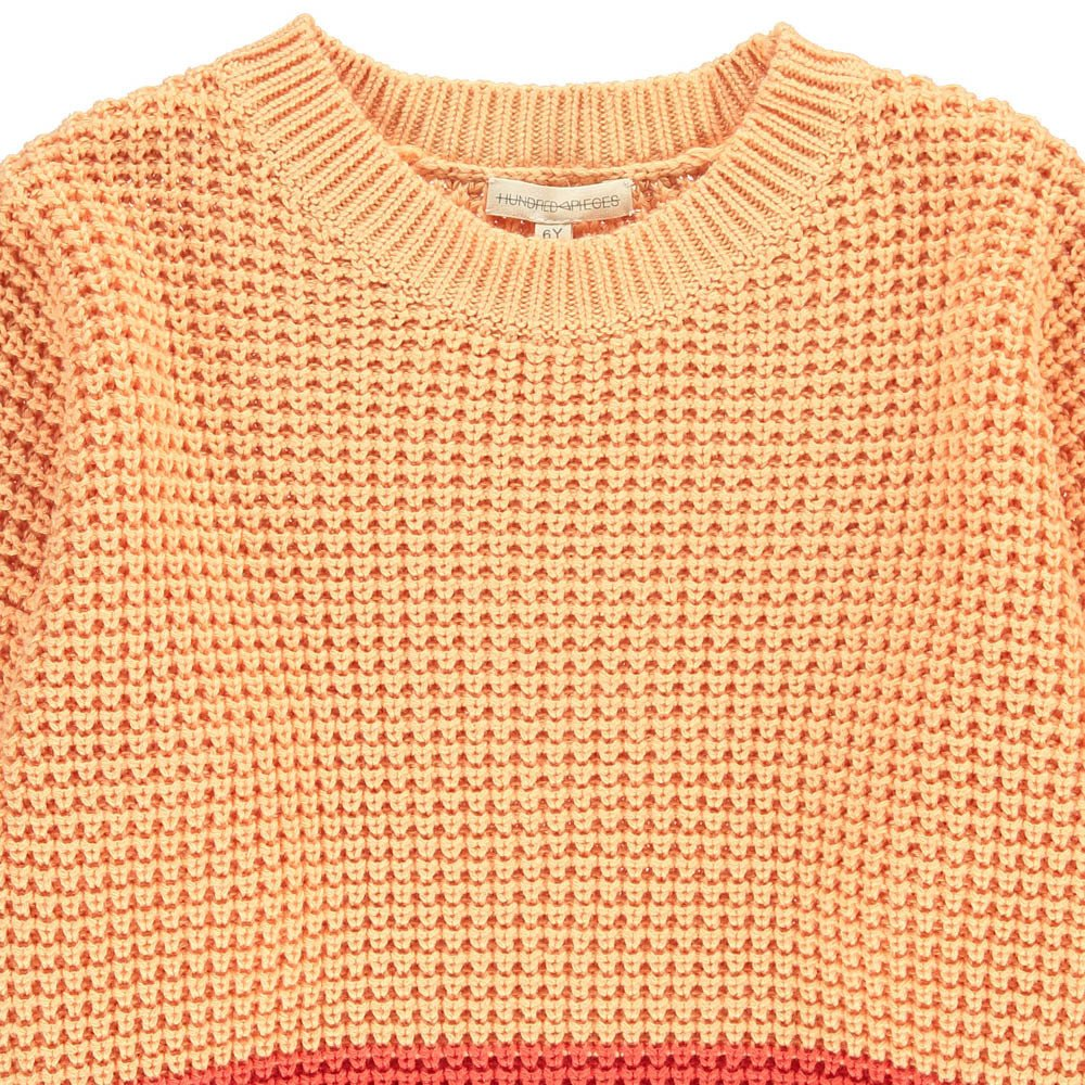 Hundred Pieces Two-Tone Jumper-product