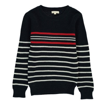 Hundred Pieces Stripe Jumper-listing