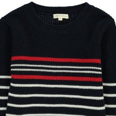 Hundred Pieces Gestreifter Pullover -listing
