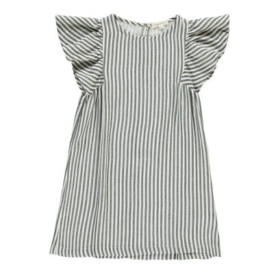 Hundred Pieces Stripe Butterfly Sleeve Dress-listing