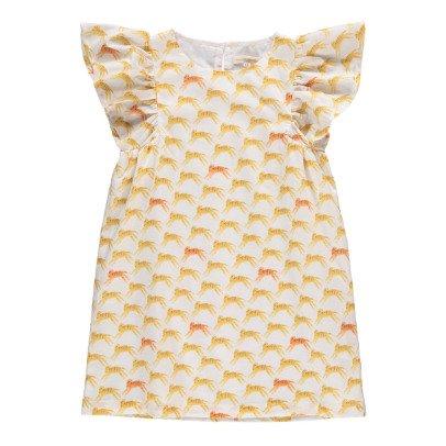 Hundred Pieces Kleid mit Schmetterlingsärmeln Tigers -listing