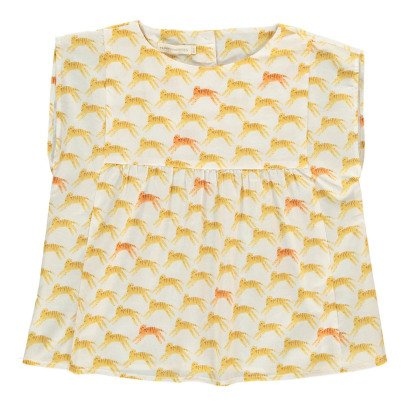 Hundred Pieces Tiger Blouse-product