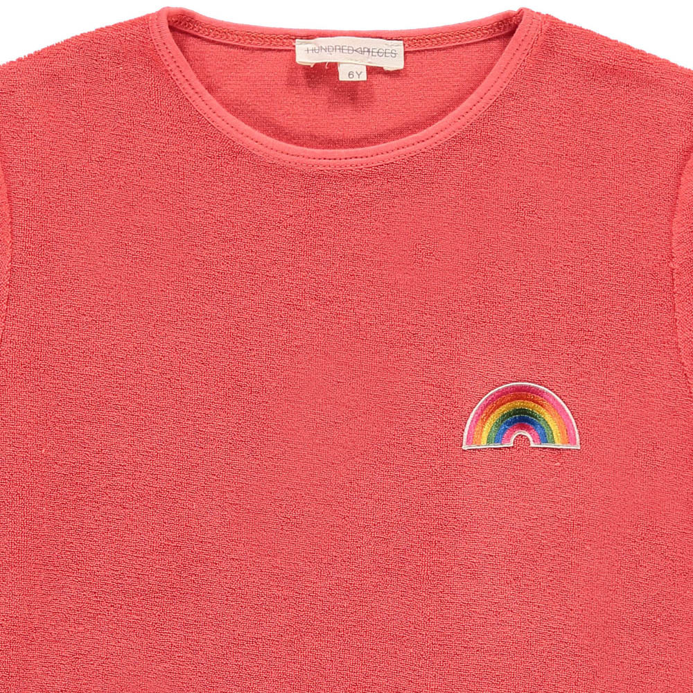 Hundred Pieces Rainbow Sponge T-shirt-product