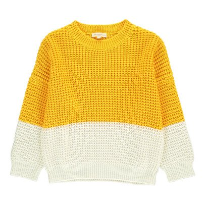Hundred Pieces Zweifarbiger Pullover -listing