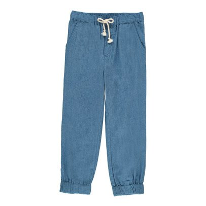 Hundred Pieces Pantalón Chambray	-listing