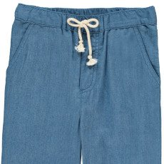 Hundred Pieces Chambray Trousers-product
