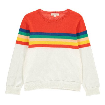 Hundred Pieces Pullover Rainbow -listing