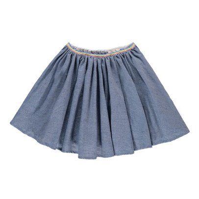 Hundred Pieces Chambray Skirt-product