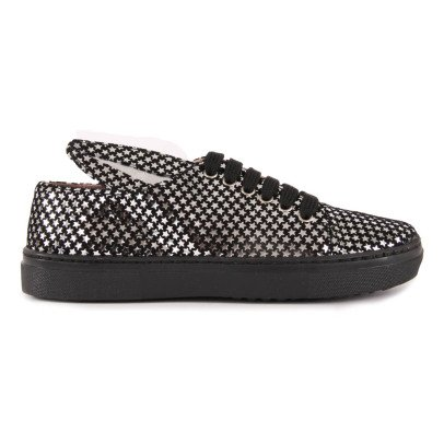 Minna Parikka Star Leather Trainers with Ears-listing