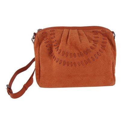 Beck Sönder Gaard Aisne Leather and Suede Shoulder Bag-listing