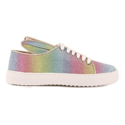 Minna Parikka Rainbow Trainers with Ears-listing