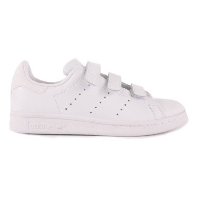 Adidas Stan Smith Velcro Leather Trainers-listing