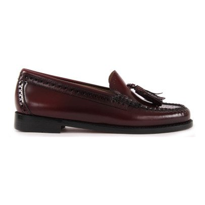 Bass Mocassins Cuir Estelle Brogue-listing