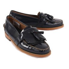 Bass Kiltie Elsepth Leather Mocassins-listing