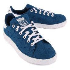 Adidas Zapatillas Canvas Cordones Stan Smith Azul Marino-listing