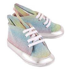 Minna Parikka Baskets Lacets Cuir Rainbow Bunny-listing