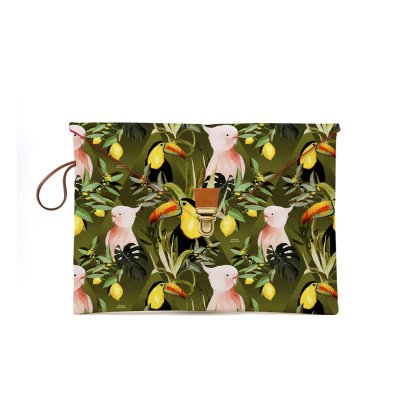 Maison Baluchon Macbook 13'' Schutzhülle Dschungel -listing
