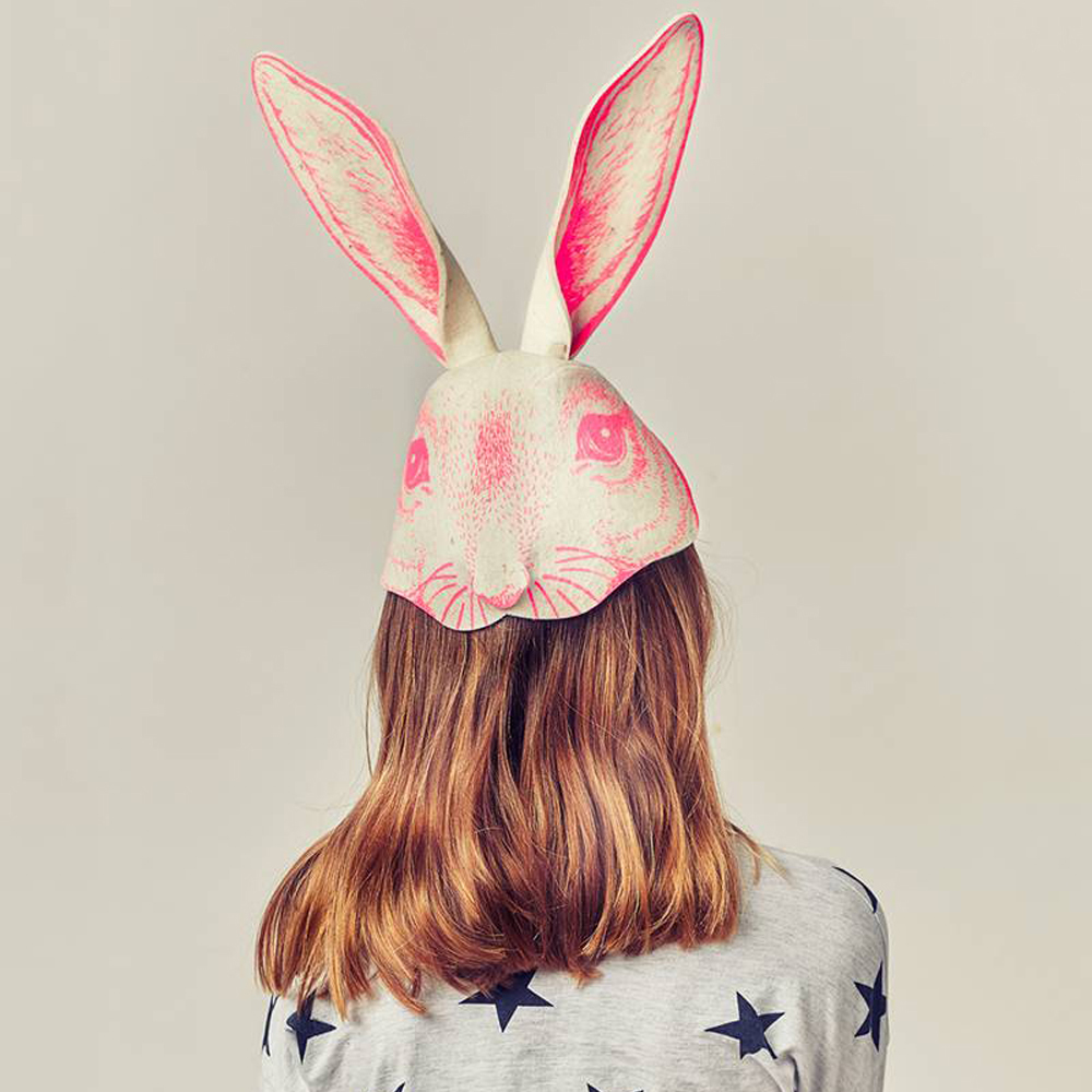 Frida's Tierchen Felt Rabbit Head Hat-product