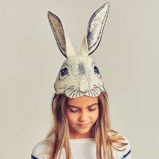 Frida's Tierchen Chapeau - masque tête de lapin en feutre-listing