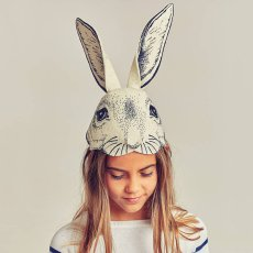 Frida's Tierchen Felt Rabbit Head Hat-listing