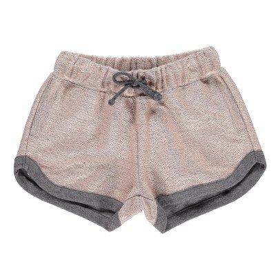 ANNE KURRIS Lurex Fleece Shorts-listing