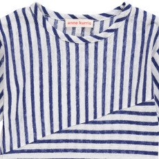 ANNE KURRIS Luca Striped Linen T-Shirt-listing