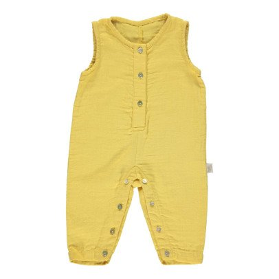 Poudre Organic Double Gaze Organic Cotton Jumpsuit-listing