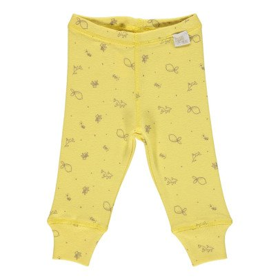 Poudre Organic Organic Cotton Lemon Leggings-listing