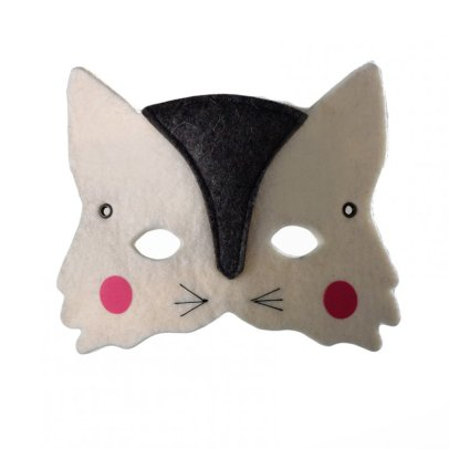 Frida's Tierchen Cat Felt Mask-listing