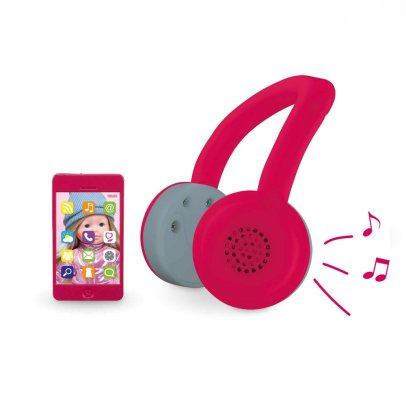 Corolle Ma Corolle - Casco audio y teléfono Rosa -product