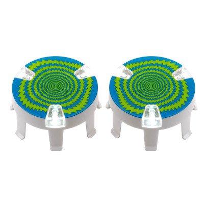 Micro LED Rad Deko- 2 Stück -listing