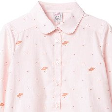 Little Karl Marc John Curly Peter Pan Collar Shirt-listing