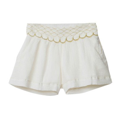 Little Karl Marc John Imagy Embroidered Shorts-listing