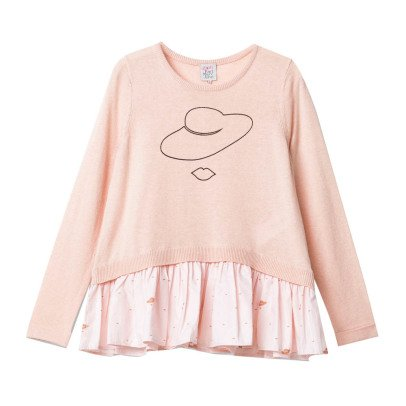 Little Karl Marc John Pull Cachemire Volants Mary-listing
