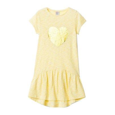 Little Karl Marc John Roomy Gold Heart Dress-listing