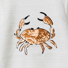 Little Karl Marc John Sweat Crabe Sequins Simply-listing