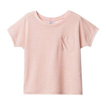 Little Karl Marc John T-Shirt Rayé Lurex Trendy-listing
