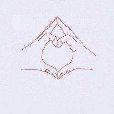 Maison Labiche Love Hand Embroidered T-Shirt White-listing