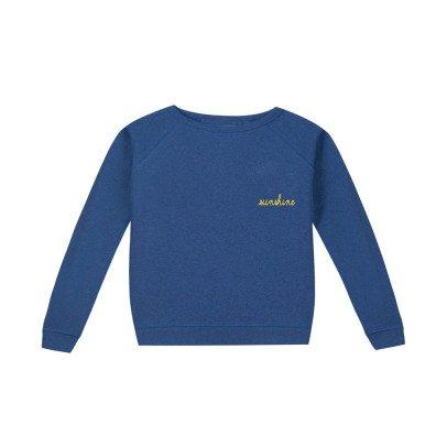 Maison Labiche Sunshine Embroidered Sweatshirt Blue-listing