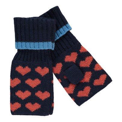 Beck Sönder Gaard Heart Ember Wool Mittens-listing