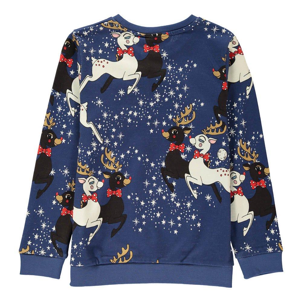 Mini Rodini Organic Cotton Reindeer Sweatshirt-product