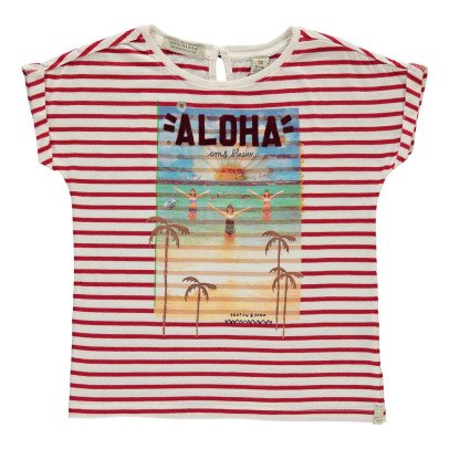 Scotch & Soda T-shirt Rayé Aloha-listing