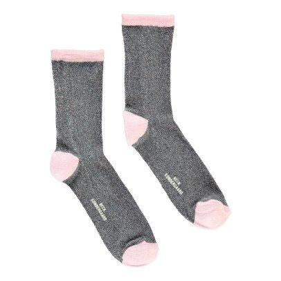 Beck Sönder Gaard Socken Lurex Dina Solid -listing